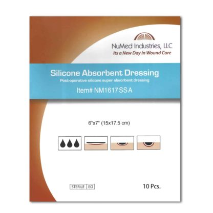 Silicone Absorbent Dressing